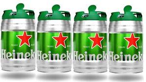 4x-Heineken-Bier-Dose-Fass-Zapfhahn-5L-Festival-Party-Grillabend-Sommer-VIP