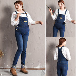 90639b6a89a Image is loading Cute-Mouse-Dungarees-Jeans-Jumpsuits-Skinny-Denim-Trousers-
