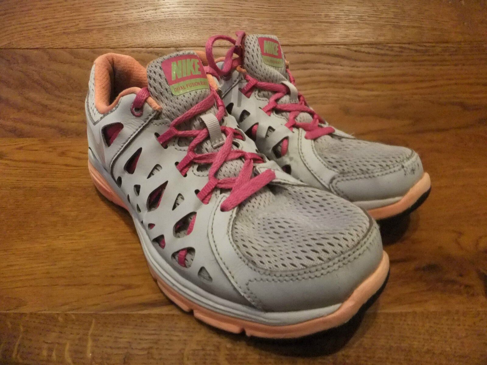 Nike Dual Fusion Run 2 Grey Running Shoes Trainers Comfortable New shoes for men and women, limited time discount