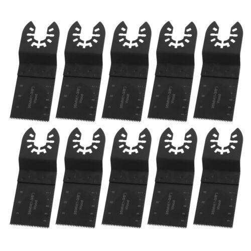 10 Pcs* Bi-metal Saw Blade Metal Cut Multi Tool For DeWalt Porter Cable Decker