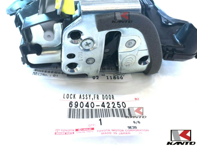 Toyota Lexus Oem 6904042250 Rav4 Tc Front Left Door Lock Actuator 69040 42250 For Sale Online Ebay