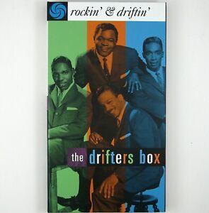 DRIFTERS The Drifters Box-rockin''& driftin' 3CD BOX SET 1996 R&B/DOO WOP NM NM