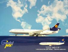GEMINI Jets 1:400 Boeing md-11f Lufthansa Cargo D-alcn + Herpa WINGS Catalogo