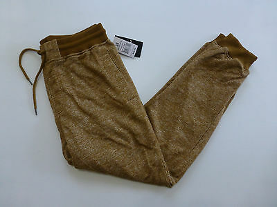 Southpole Mens Size S M L Wheat Marled Ribbed Wasitband Jogger Pants New