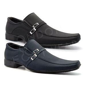 NEXT Nero Fibbia Eleganti Slip On Heels Size 8 NUOVO