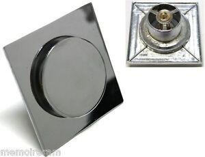 Intelligent Siphon De Sol Type Tic-tac S'ouvre Et Se Referme En Appuyant - C1249