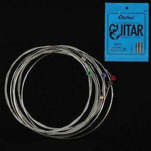 1X-Orphee-6-pz-set-Set-di-corde-per-chitarra-elettrica-in-lega-di-nichel-Y7P4