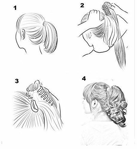 15-034-26-034-traight-Human-Hair-Extension-100-Human-Hair-Claw-Jaw-Clip-On-Ponytail