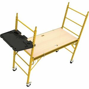 MetalTech Jobsite Series Tool Tray for 6ft. Baker-Style Scaffolds #I-CISTR