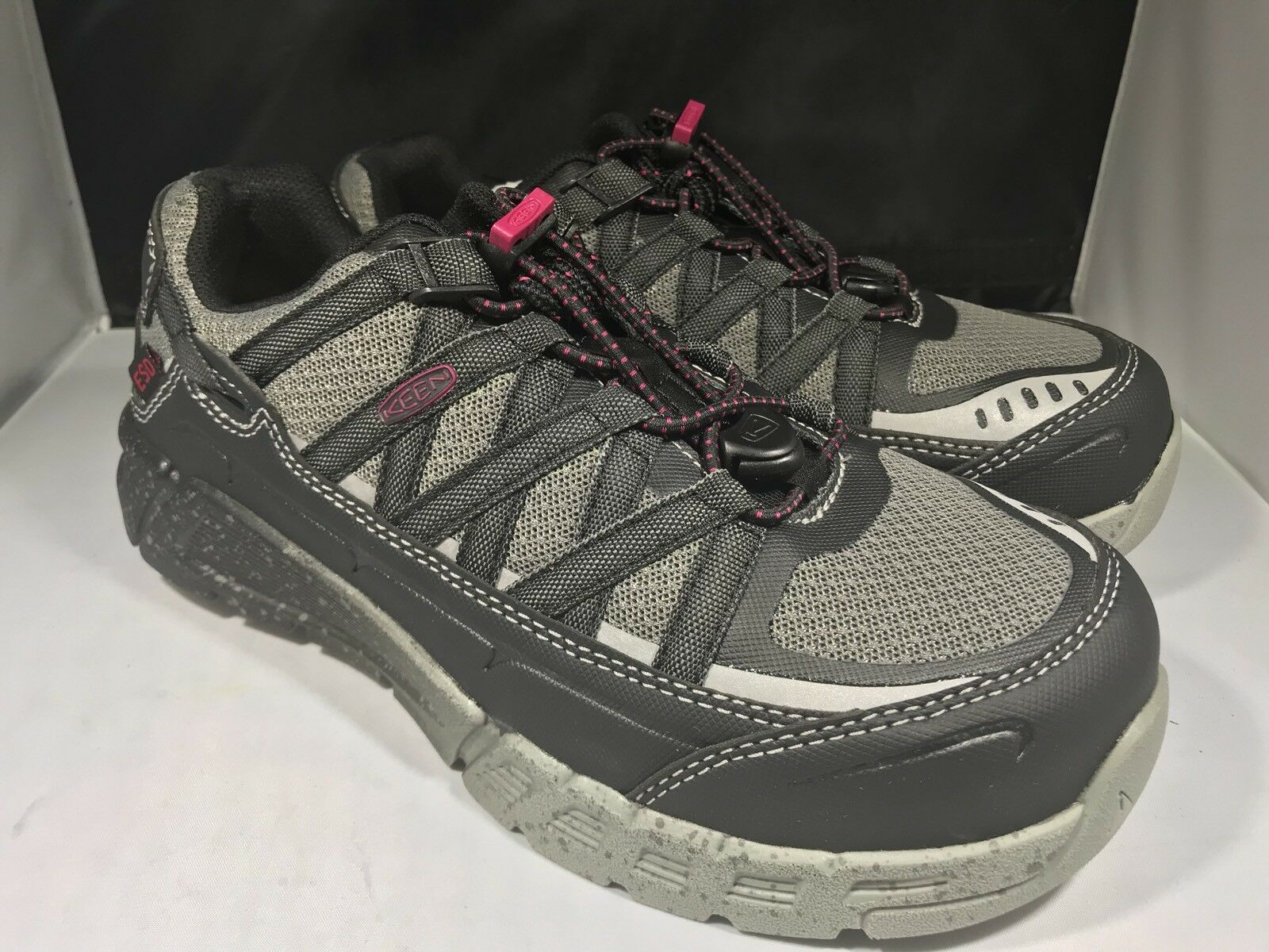 Keen Womens Asheville AT ESD ESD ESD shoes size 6.5m ( 21) f83390