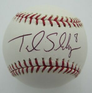 Terrmel Sledge San Diego Padres Signed/Autographed Official MLB Baseball 155495