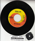 "THE SEEKERS Georgy Girl 7"" 45 rpm vinyl record + jukebox title strip"