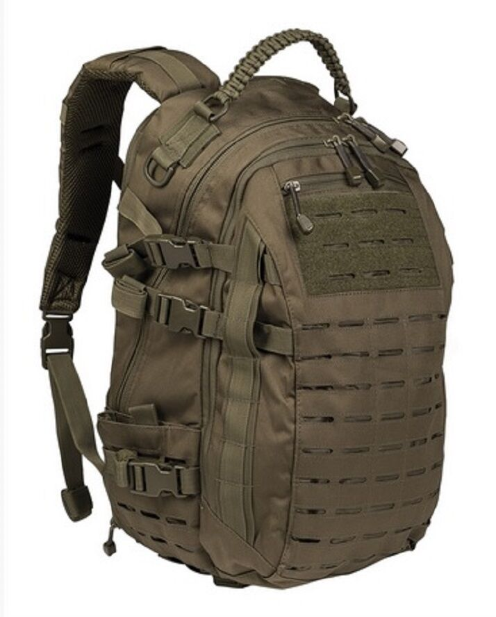 MISSION Day PACK LASER CUT LARGE LARGE LARGE Outdoor Freizeit Daypack Rucksack oliv verde 5a80c3