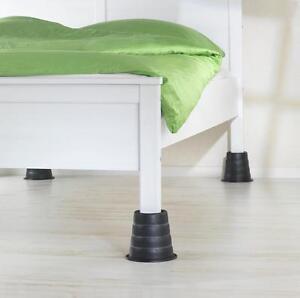 4er Set Betterhohung Pflegebett Bett Aufstehhilfe Senioren Tisch