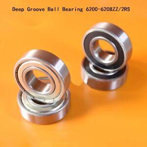Deep Groove Ball Bearing 6200 6201 6202 6203 6204 6205 6206 6207 6208ZZ/2RS