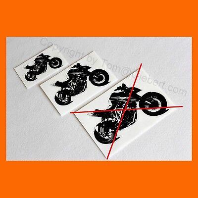Adesivi 2x Sticker Decoro Moto Biker Auto Ktm Superduke Sd 1290 Superbike- Belle Arti