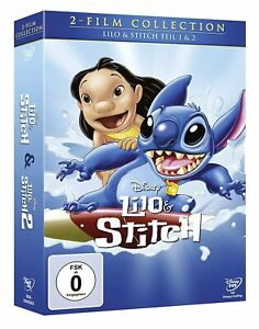 Lilo & Stitch-parte: 1 & 2 [DVD/Nuovo/Scatola Originale] WALT DISNEY