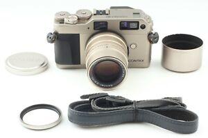 near-Mint-Contax-g1-Rangefinder-35mm-Film-Kamera-mit-Sonnar-90mm-f-2-8-Japan