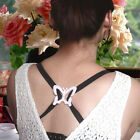 Lot 2PCS Butterfly Cleavage Control Clips Hide Bra Strap Buckle Summer MIni Tool