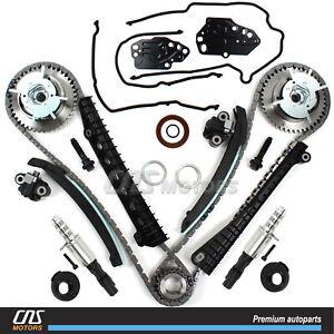 Fits Timing Chain Kit Cam Phaser Oil Control Valve Seal Kit Ford Lincoln 5.4L 3V