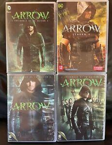 COFFRETS DVD SERIE FANTASTIQUE ACTION : ARROW SAISONS 1 A 4 COMPLET - DC COMICS