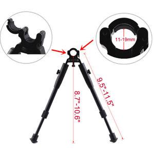 Tactical-Bipod-Rifle-Hunting-Gun-Barrel-Mount-Shooting-Rest-Stand-9-034-Adjustable