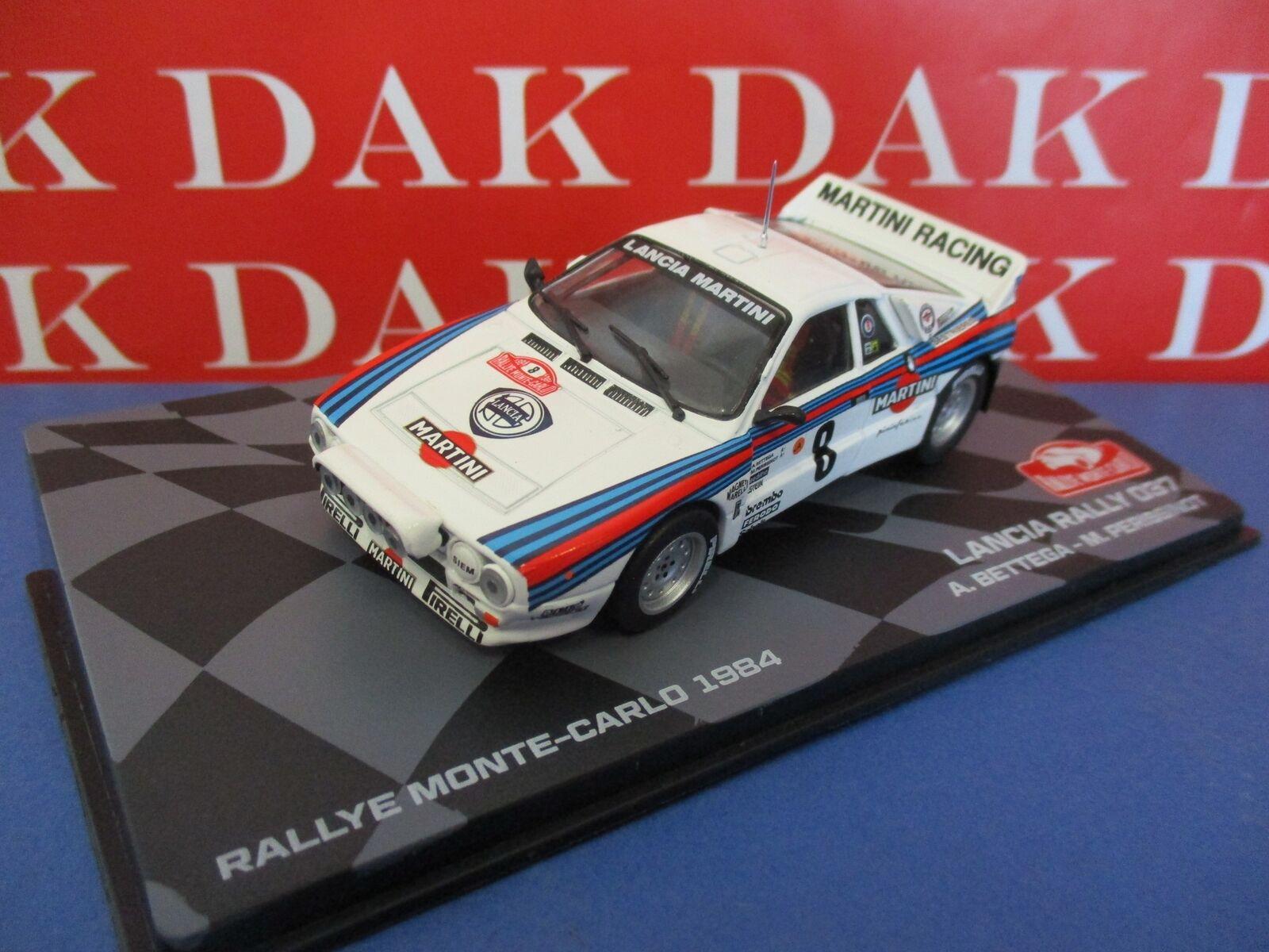 Die cast 1 43 Modellino Auto Lancia 037 Rally Monte Carlo 1984 A.Bettega