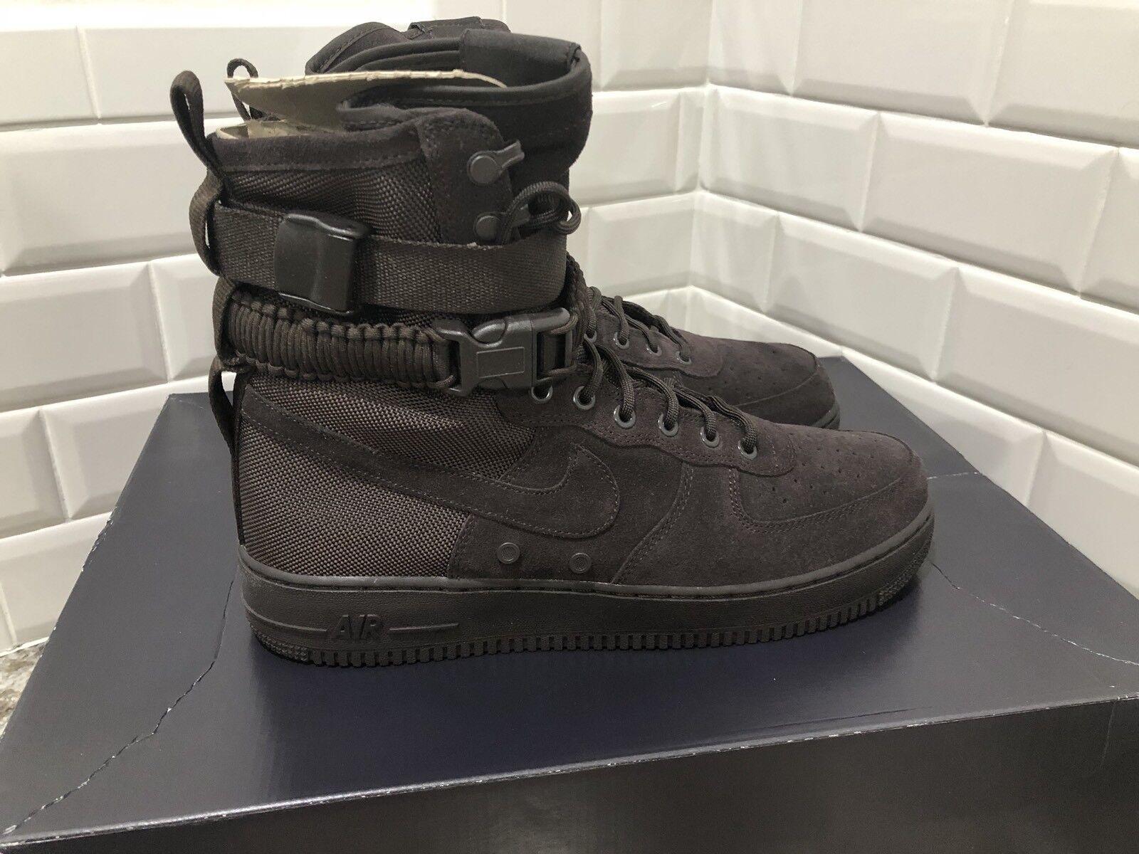 Nike Air Force 1 SF Special Field Velvet Brown AF1 Boot SZ 12 864024-203