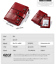 Women-Genuine-Leather-Cowhide-Clutch-Bifold-Wallet-Credit-Card-ID-Holder-Purse thumbnail 9