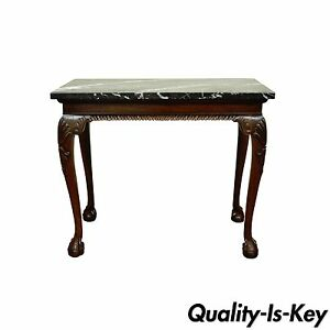 Merveilleux Image Is Loading Vintage Carved Mahogany Chippendale Style Ball And Claw