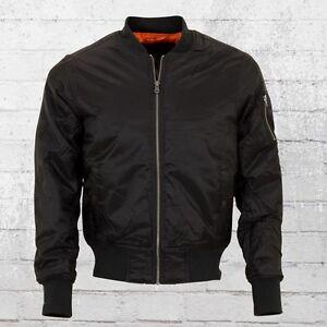 info for 62155 74354 Details zu Urban Classics Bomber Jacke Herren schwarz Männer Bomberjacke  Men's Jacket black