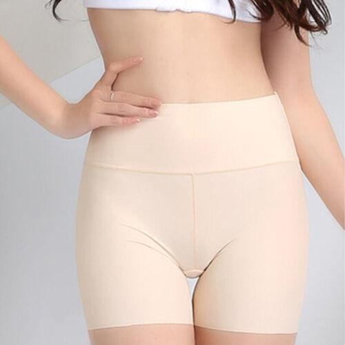 Women Elastic Safety Soft Under Shorts Pants Leggings Render Anti Chafing Plain