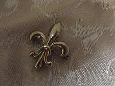 Bellissima spilla vintage a forma di fiore giglio Firenze argento