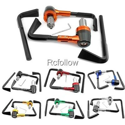 """New CNC Universal 7/8"""" 22mm Proguard System Brake Clutch Levers Protect Guard"""
