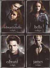 "Twilight - 2008 San Diego Comic Con RARE UNCUT 4 card promo sheet (5"" x 7"")"