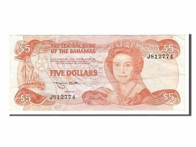 #156016 Ef Bahamas J812774 Complete Range Of Articles 5 Dollars 40-45 The Best Km #45b 1984