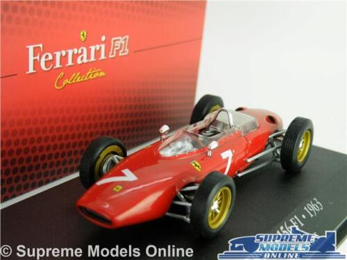 Ferrari 156 F1 Coche Modelo 1963 John Surtees 1:43 IXO Atlas 7174023 Formula One T3