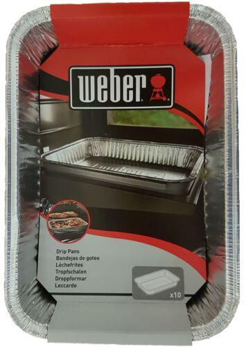 Weber 6415 ALU flebo gusci Grill Guscio PADELLA GRILL BBQ GUSCIO Grilli pacco 10er