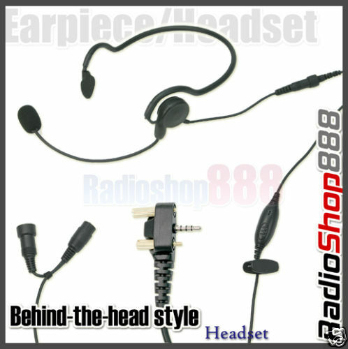 Behind-the-head style headset for VX-130 VX-160 E15Y4