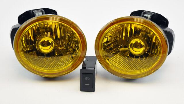 Yellow Front Fog Lights Wiring Switch Bracket FITS Nissan Altima Murano Infiniti