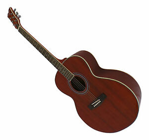 Left-Handed-Acoustic-Guitar-Mahogany-full-size-Jumbo-Body-lowest-sale-price-New