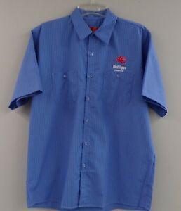 NEW Mobil Gas /& Oil Pegasus Station Uniform Work Shirt Large 42-44