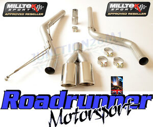 VW-Caddy-Milltek-Exhaust-2-0-TDi-140PS-2WD-Particulate-Filter-Back-NonRes-Polish