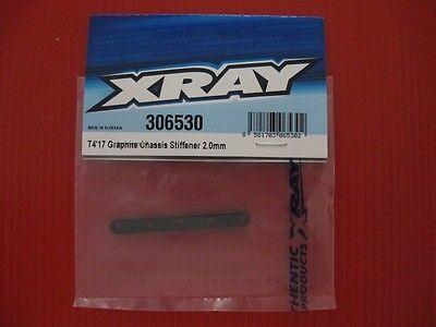 Xray T4/'17 Graphite Chassis Stiffener 3.0mm XRA306530