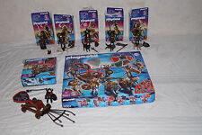 Playmobil 5001 Wolfs Ritter 4807 + 4808 + 4809 + 4810 + 4811 + 4812 in OVP