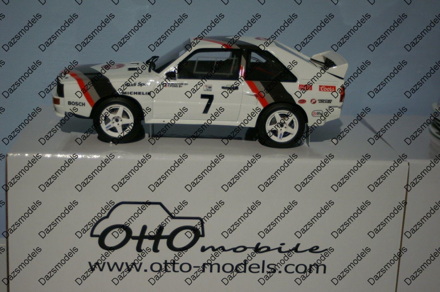 OTTO AUDI SPORT QUATTRO PICCHE picco M. Mouton Ltd 2000 AUTO 1:18 in resina OT591