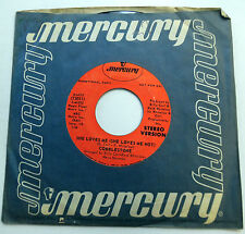 COBBLESTONE 45 She Loves Me (Loves Me Not) STEREO & MONO promo MERCURY R&B e298