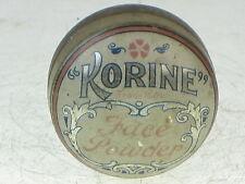 23150 Old Vintage Antique Tin - Hair Beauty Face Powder Art Nouveau Make Up kori