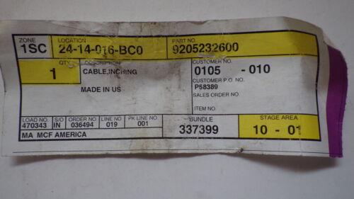 CATERPILLAR 9205232600 CABLE IGNICION