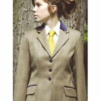 Ladies Competition Saville Tagg Wool Riding Jacket - All Sizes